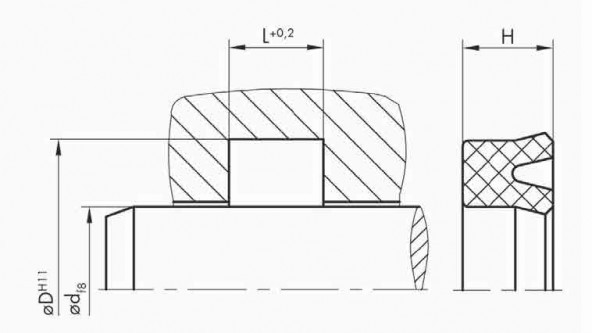 Rod Seal SNI 39 (MA 39)