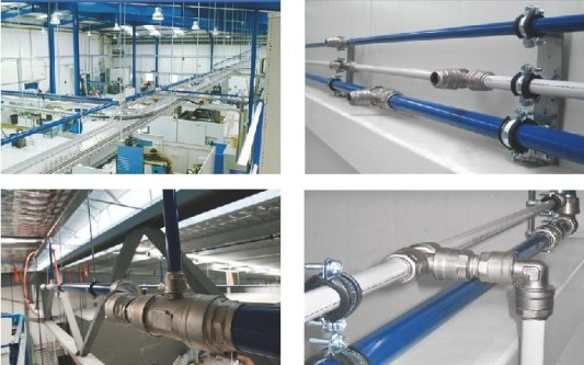 Compressed-Air-Piping-System